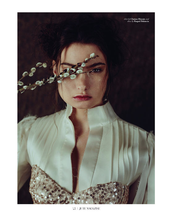 RAQUEL BALENCIA FOR JUTE MAGAZINE EDITORIAL, SPRING ISSUE 20172