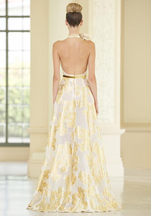 Stamped Duchesse Silk gown2