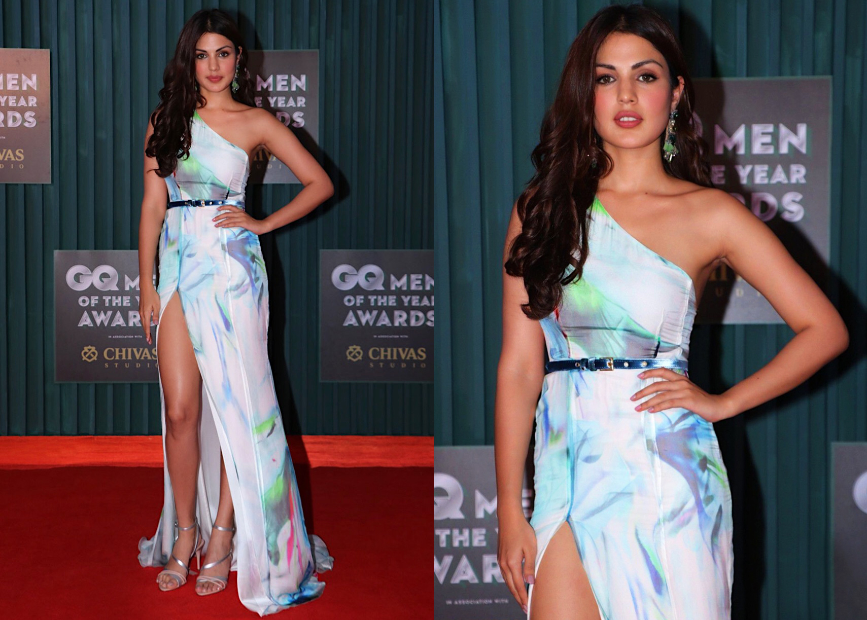 RHEA CHAKRABORTY DRESSED BY RAQUEL BALENCIA FOR GQ MEN OF THE YEAR AWARDS 2018