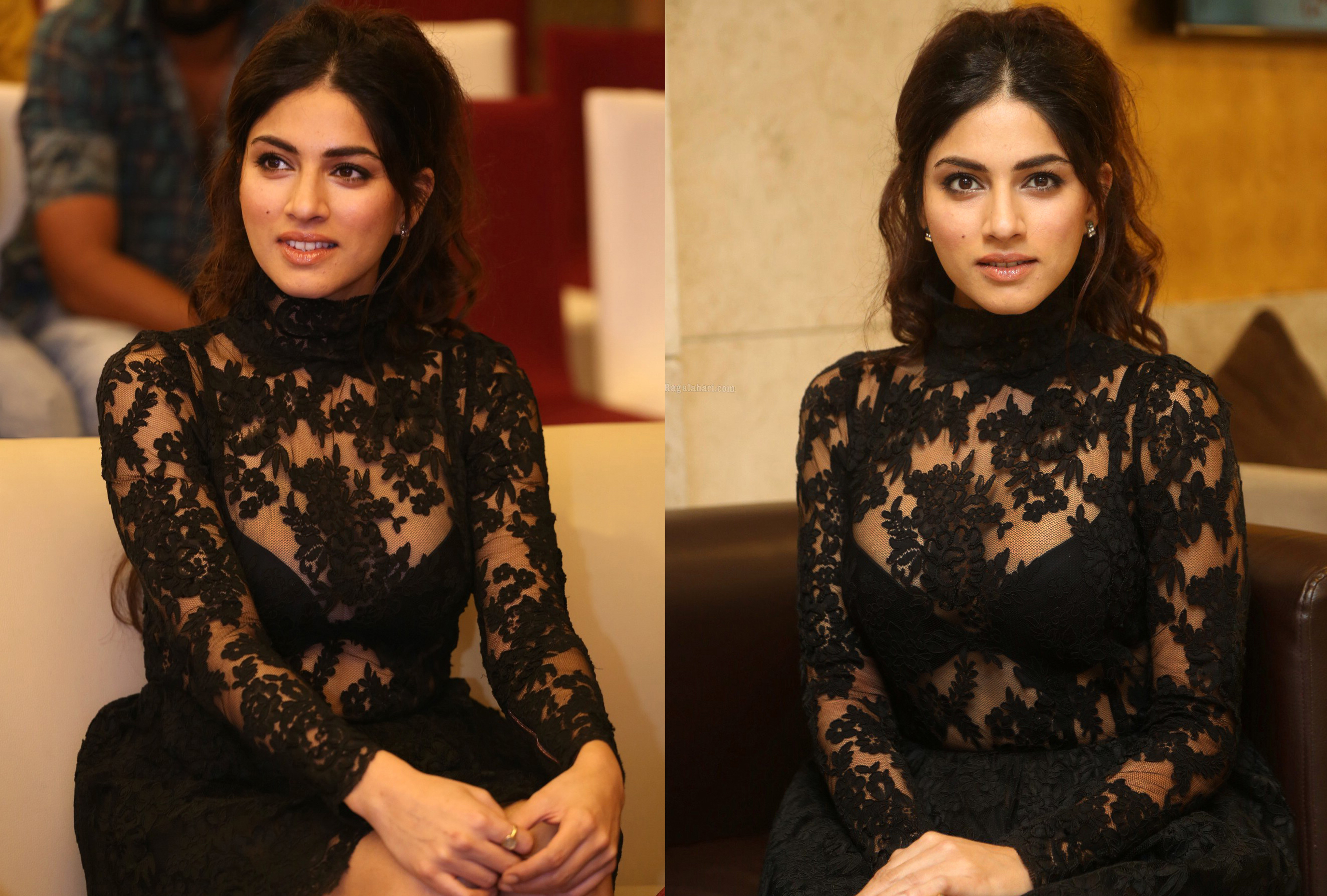 SAPNA PABBI DRESSED BY RAQUEL BALENCIA, DURING HER NEW FILM