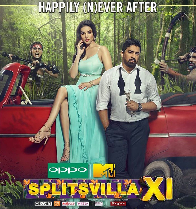 SUNNY LEONE DRESSED BY RAQUEL BALENCIA FOR HER NEW TV PROGRAM, SPLITSVILLA XI2