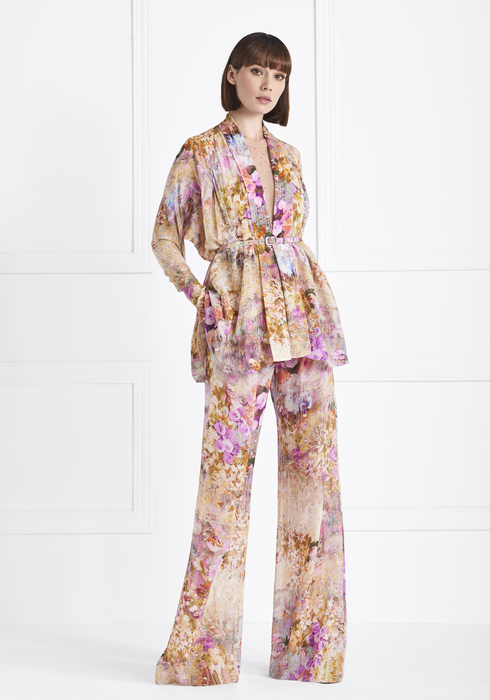 Georgette Silk Suit