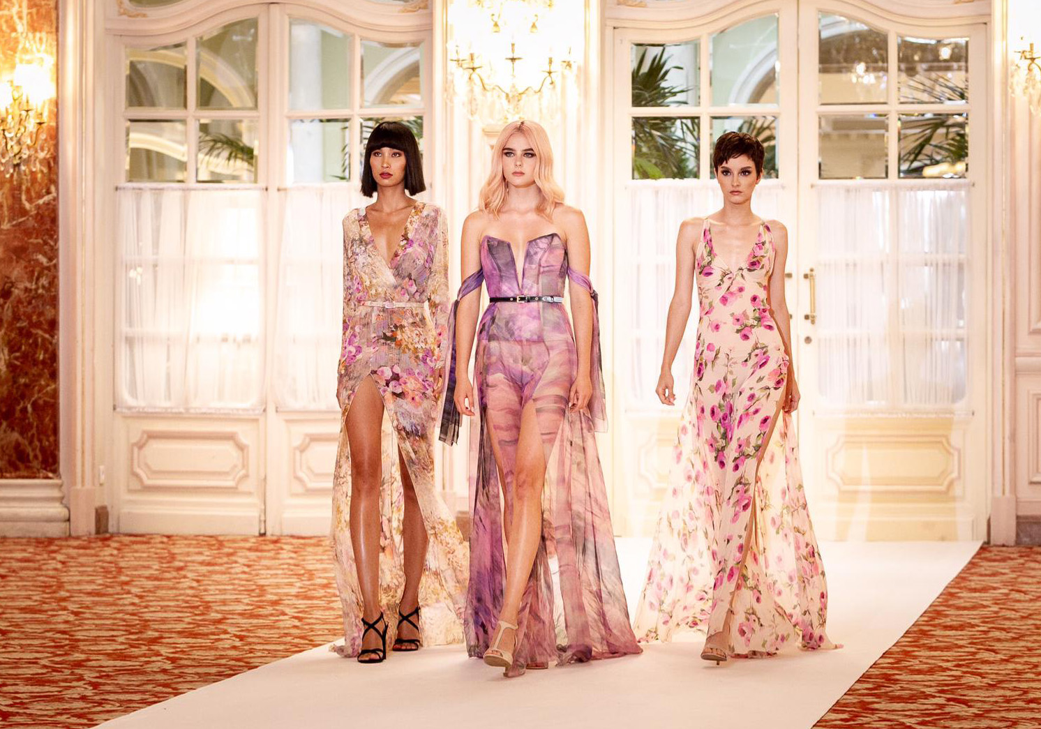 AUSTRIAS NEXT TOP MODEL´S WINNER AND FINALISTS DRESSED BY RAQUEL BALENCIA